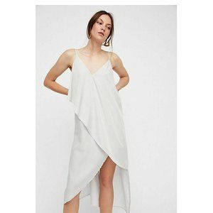 Free People Looks Like Layers Shimmer Dress L